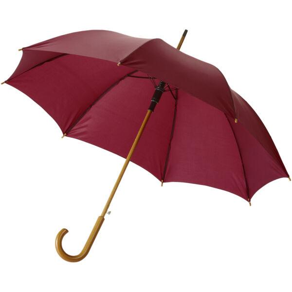 "Kyle 23"" auto open umbrella wooden shaft and handle (10904803)"