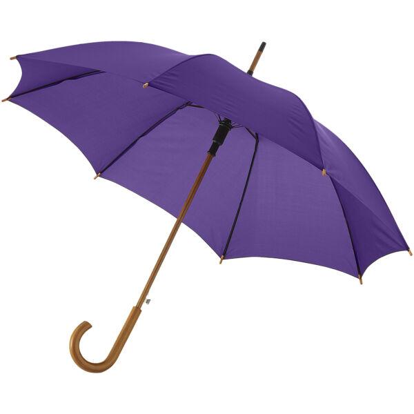 "Kyle 23"" auto open umbrella wooden shaft and handle (10904806)"