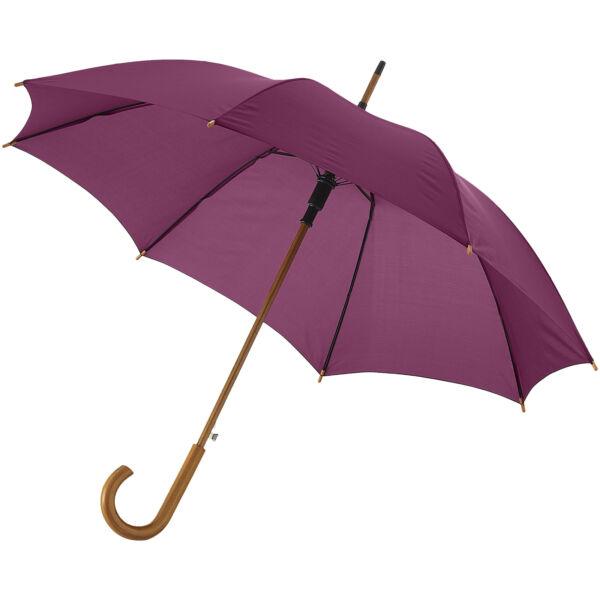 "Kyle 23"" auto open umbrella wooden shaft and handle (10904807)"