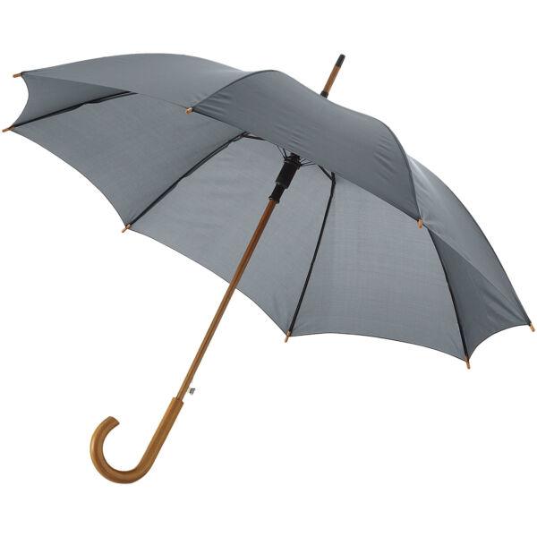 "Kyle 23"" auto open umbrella wooden shaft and handle (10904808)"