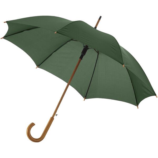 "Kyle 23"" auto open umbrella wooden shaft and handle (10904809)"