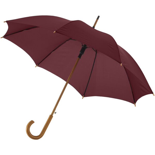 "Kyle 23"" auto open umbrella wooden shaft and handle (10904810)"
