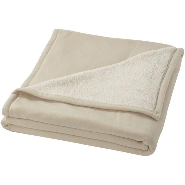 Springwood soft fleece and sherpa plaid blanket (11280902)