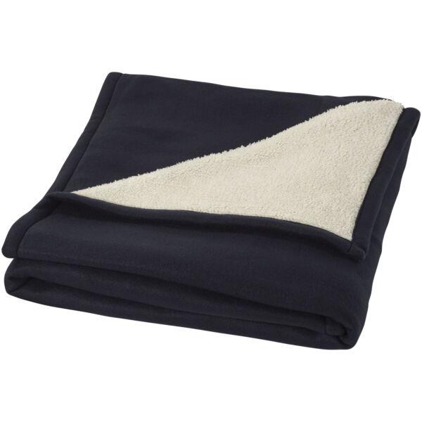Springwood soft fleece and sherpa plaid blanket (11280903)