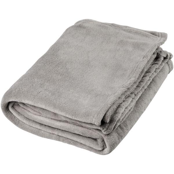 Bay extra soft coral fleece plaid blanket (11281001)