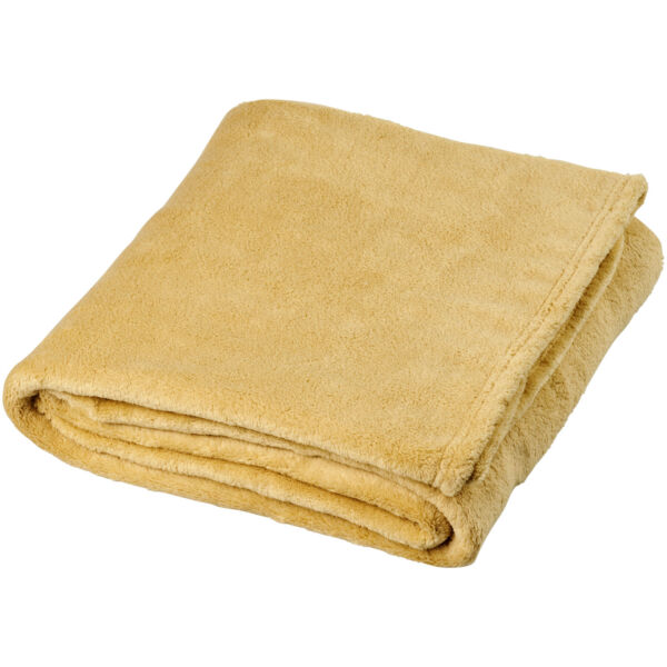Bay extra soft coral fleece plaid blanket (11281002)