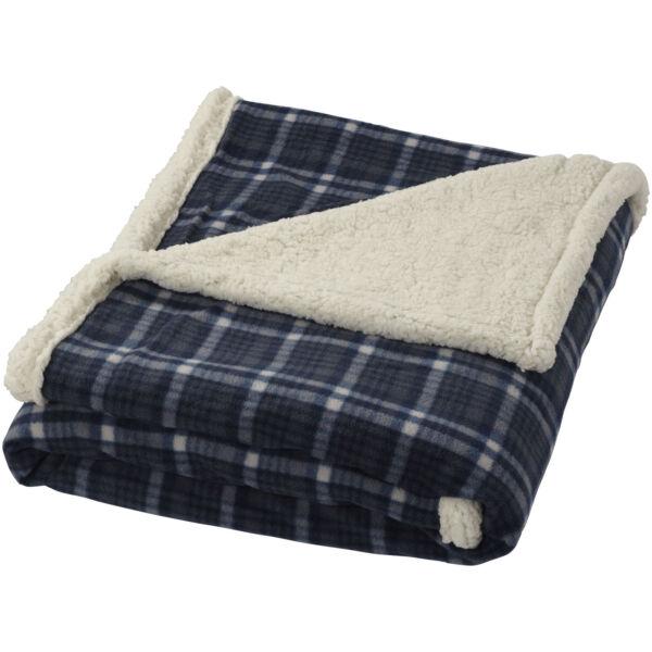 Joan sherpa plaid blanket (11284100)