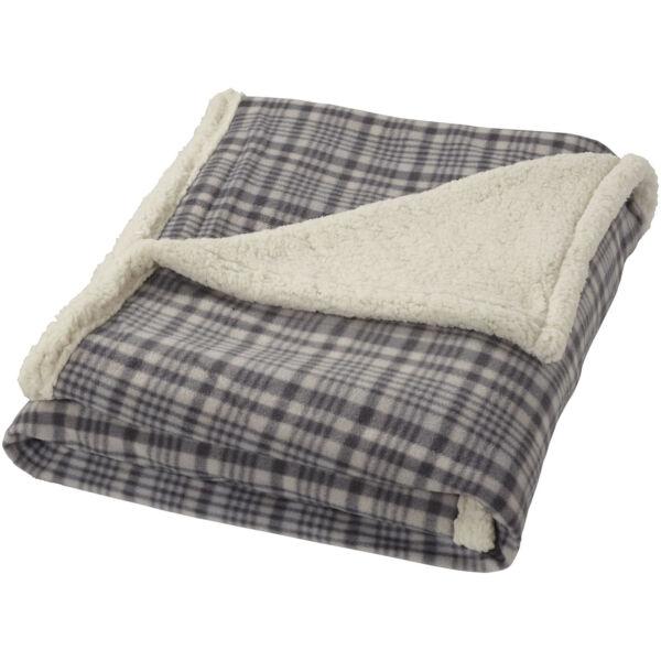 Joan sherpa plaid blanket (11284101)