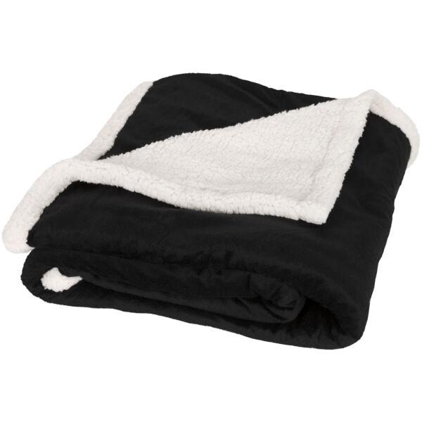 Lauren sherpa fleece plaid blanket (11293400)