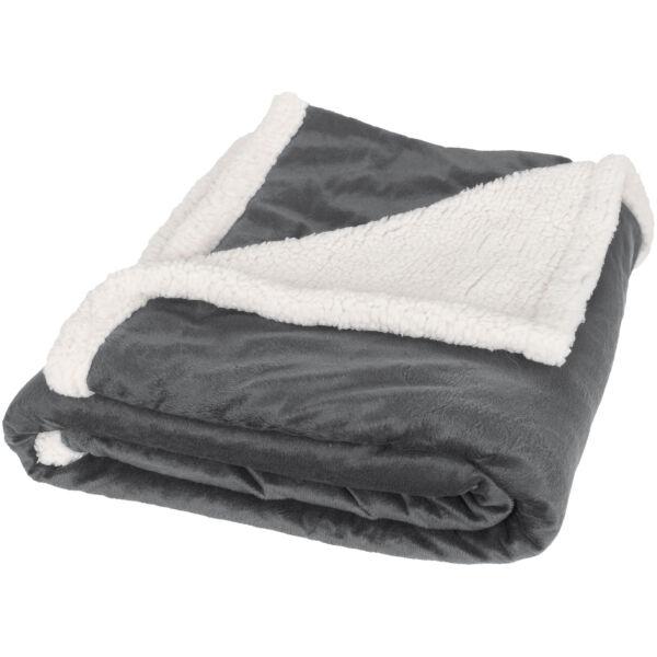 Lauren sherpa fleece plaid blanket (11293401)