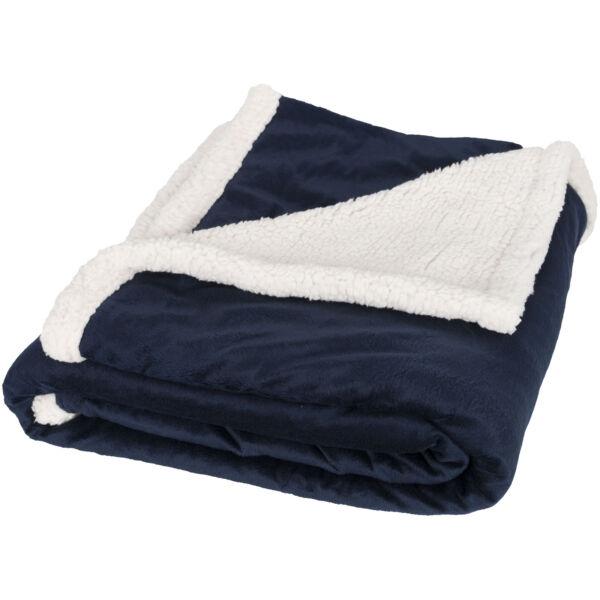 Lauren sherpa fleece plaid blanket (11293402)