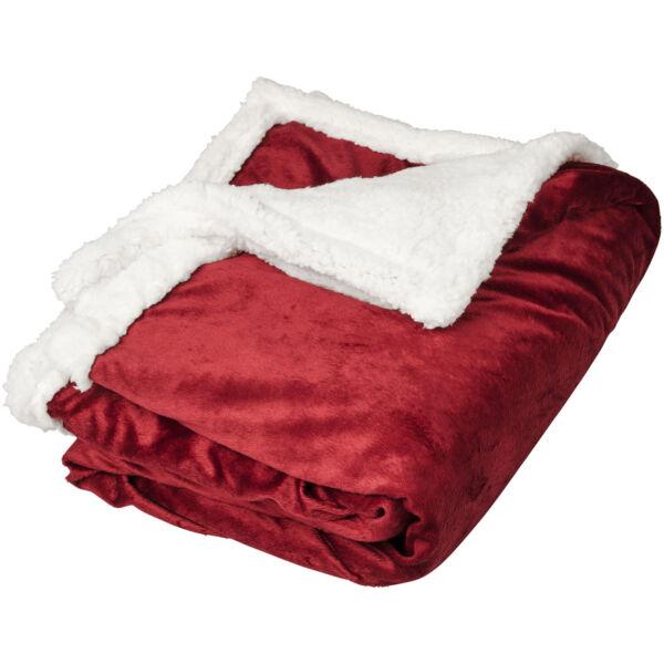 Lauren sherpa fleece plaid blanket (11293403)