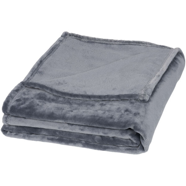 Mollis oversized ultra plush plaid blanket (11296502)