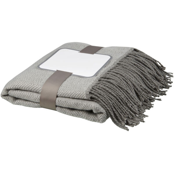 Haven herringbone throw blanket (11311701)