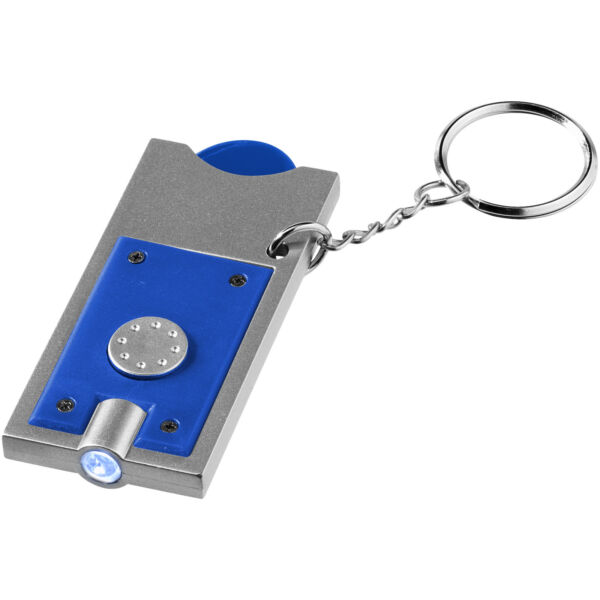 Allegro LED keychain light with coin holder (11809601)