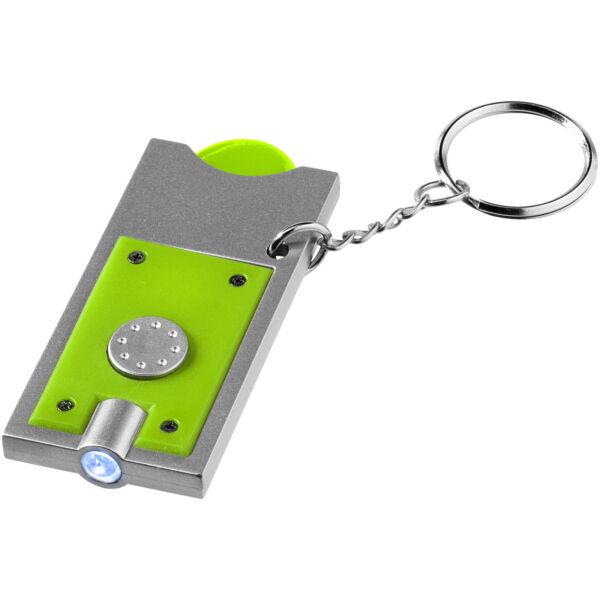 Allegro LED keychain light with coin holder (11809604)