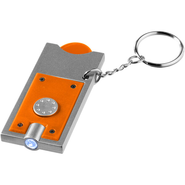 Allegro LED keychain light with coin holder (11809605)