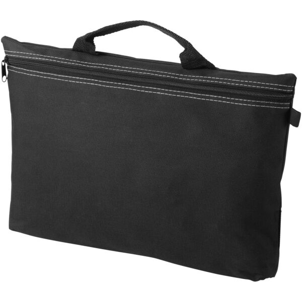 Orlando zippered conference bag with pen loop (11943400)