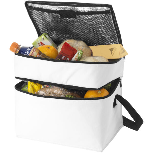 Oslo 2-zippered compartments cooler bag (11960000)