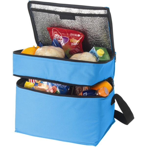 Oslo 2-zippered compartments cooler bag (11960002)