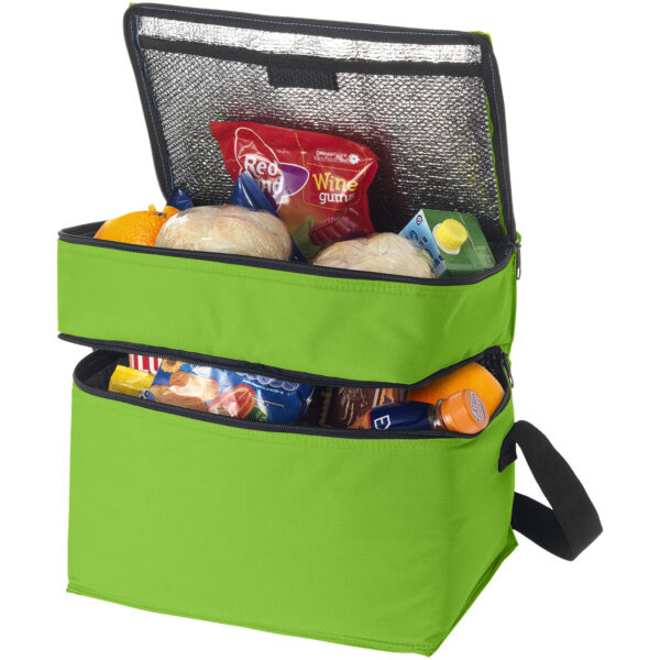 Oslo 2-zippered compartments cooler bag (11960003)