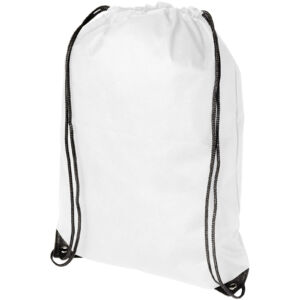 Evergreen non-woven drawstring backpack (11961900)