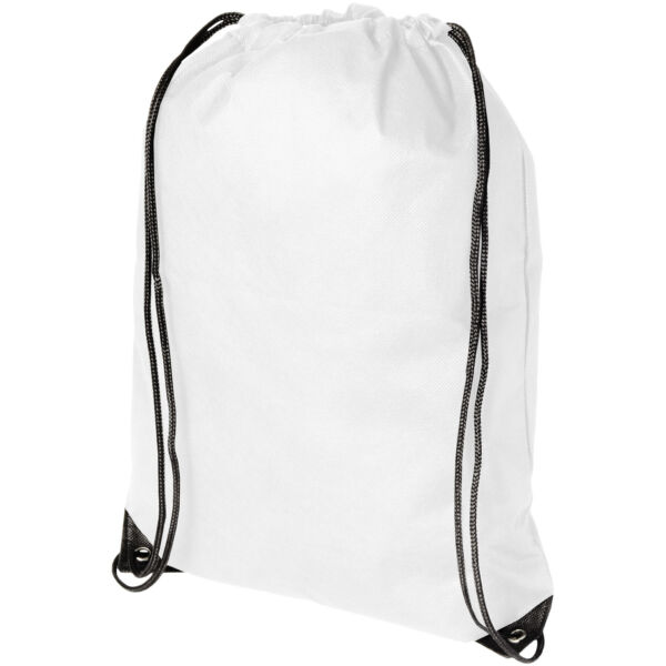 Evergreen non-woven drawstring backpack (11961900)