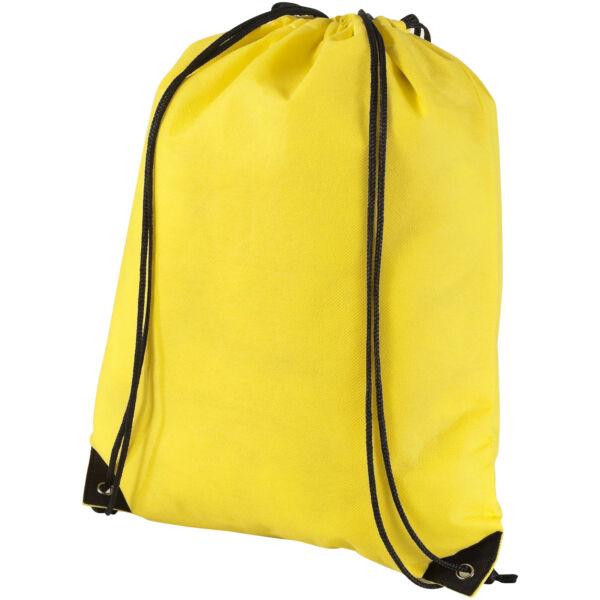 Evergreen non-woven drawstring backpack (11961901)
