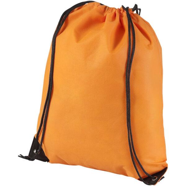 Evergreen non-woven drawstring backpack (11961902)