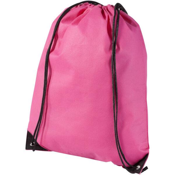 Evergreen non-woven drawstring backpack (11961903)