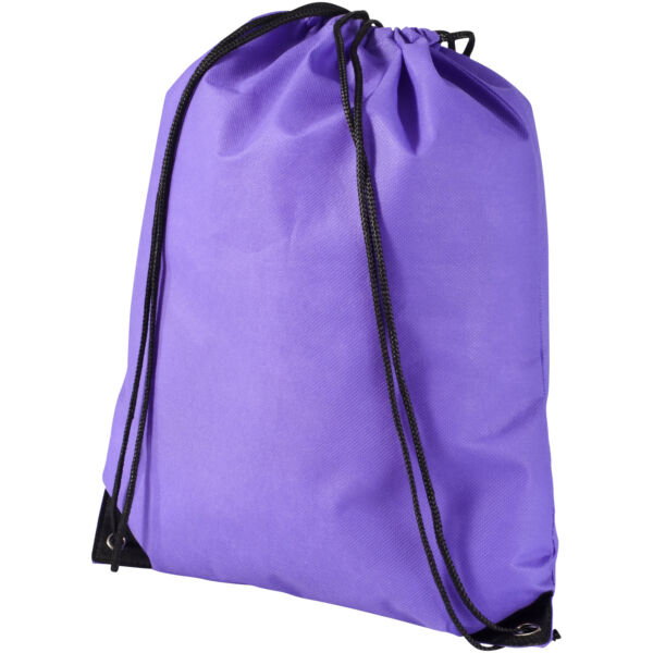 Evergreen non-woven drawstring backpack (11961904)