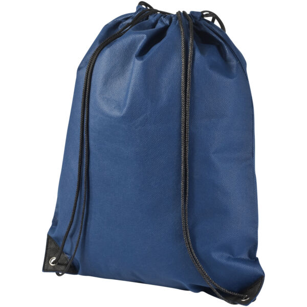 Evergreen non-woven drawstring backpack (11961905)