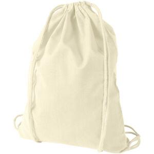 Oregon 100 g/m² cotton drawstring backpack (12011300)