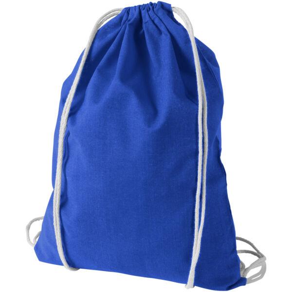 Oregon 100 g/m² cotton drawstring backpack (12011303)