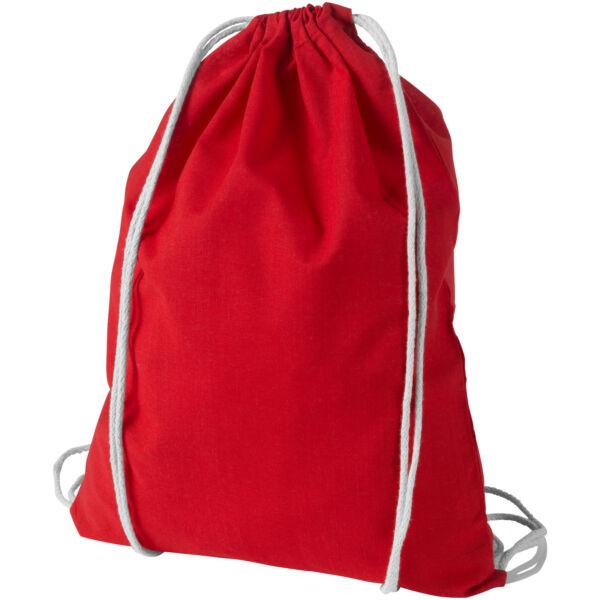 Oregon 100 g/m² cotton drawstring backpack (12011304)