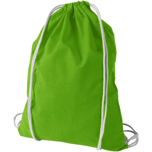 Oregon 100 g/m² cotton drawstring backpack (12011307)