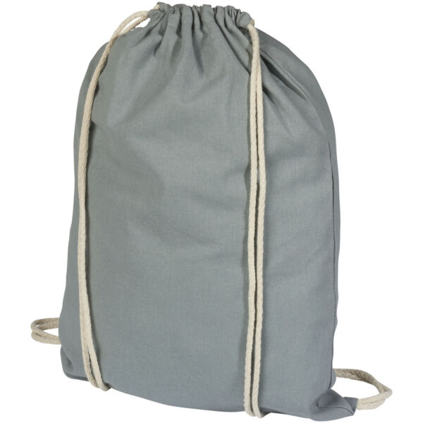 Oregon 100 g/m² cotton drawstring backpack (12011308)