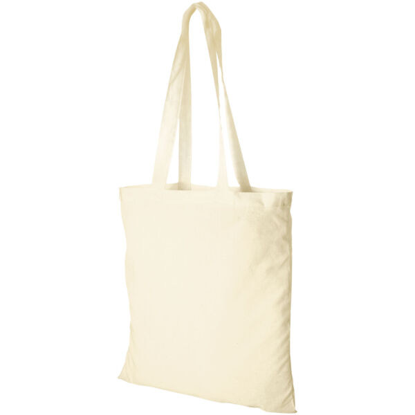 Madras 140 g/m² cotton tote bag (12018100)