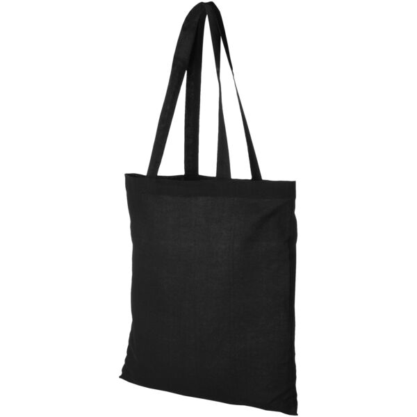 Madras 140 g/m² cotton tote bag (12018101)