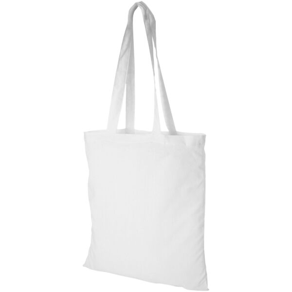 Madras 140 g/m² cotton tote bag (12018102)
