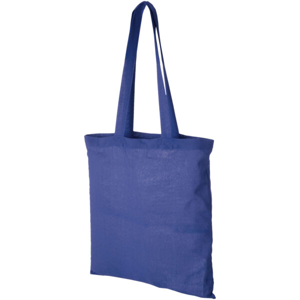 Madras 140 g/m² cotton tote bag (12018104)