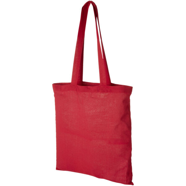 Madras 140 g/m² cotton tote bag (12018105)