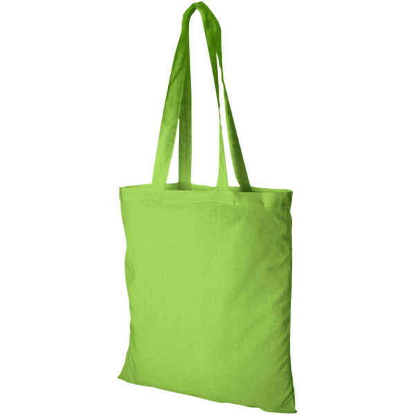 Madras 140 g/m² cotton tote bag (12018106)