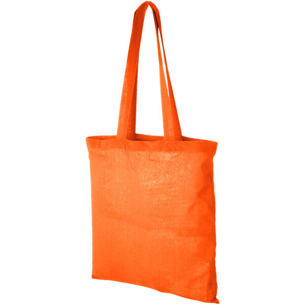 Madras 140 g/m² cotton tote bag (12018107)