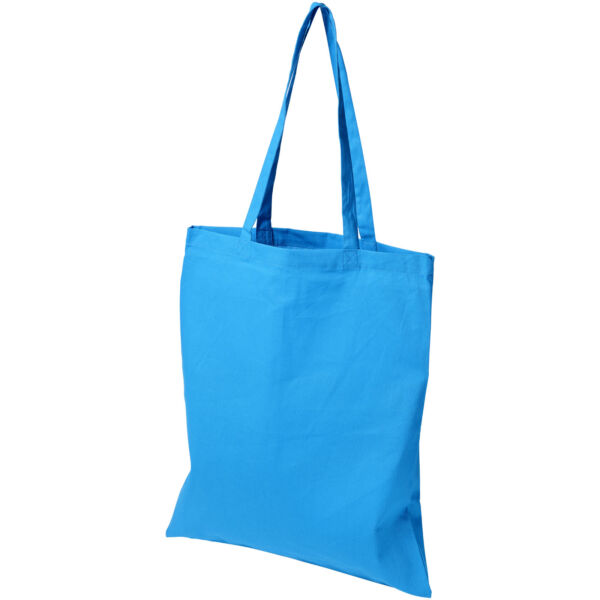 Madras 140 g/m² cotton tote bag (12018109)