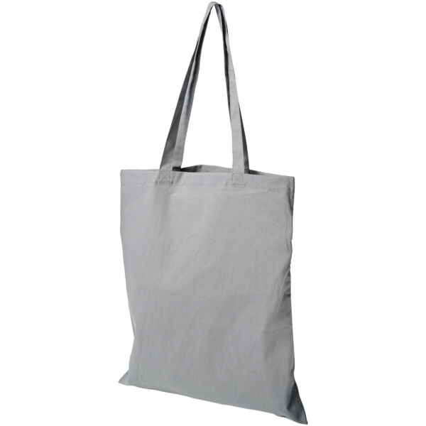 Madras 140 g/m² cotton tote bag (12018111)