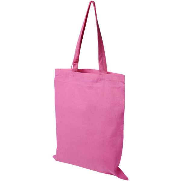 Madras 140 g/m² cotton tote bag (12018113)
