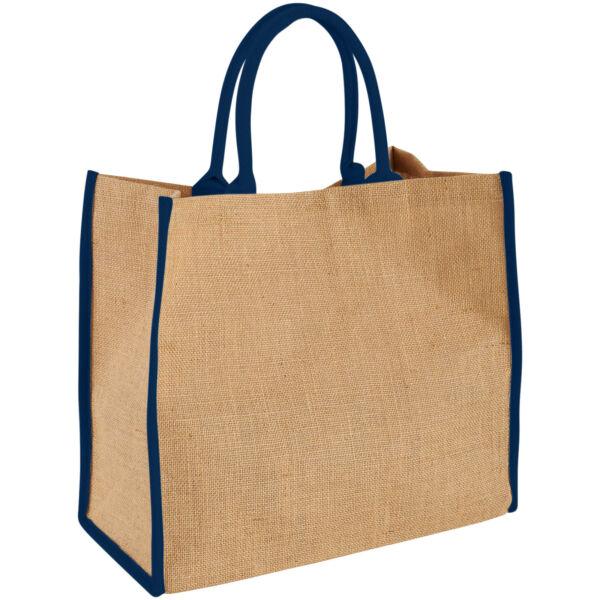 Harry coloured edge jute tote bag (12018202)