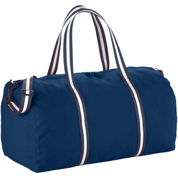 Weekender cotton travel duffel bag (12019401)