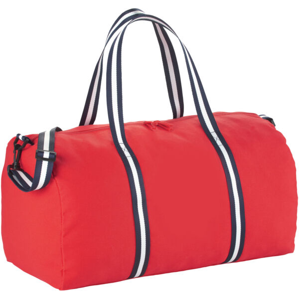 Weekender cotton travel duffel bag (12019402)